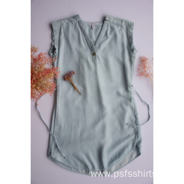 Women Short Sleeveless Shirts